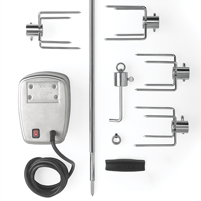 Commercial Quality Rotisserie Kit