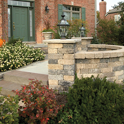Fireplace Stone And Patio