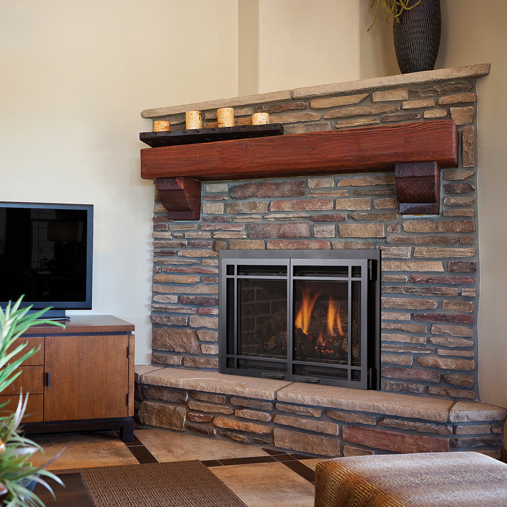 Gas Direct Vent Inserts Fireplace Stone Amp Patio