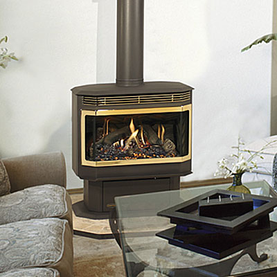 Gas Fireplace Outdoor Patio