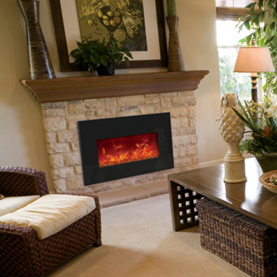 Electric Inserts Fireplace Stone Amp Patio