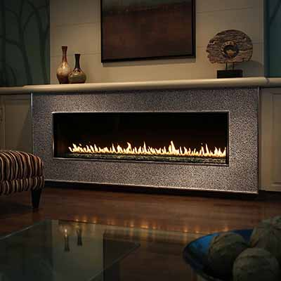 Gas Fireplaces Fireplace Stone Patio - Gas fireplace stones