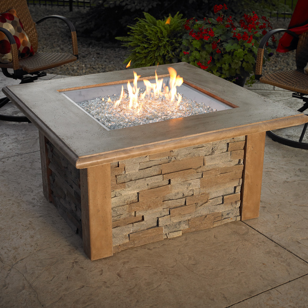 Gas Patio Table fire pits | fireplace stone & patio