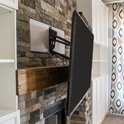 Tv Mounts Fireplace Stone Amp Patio