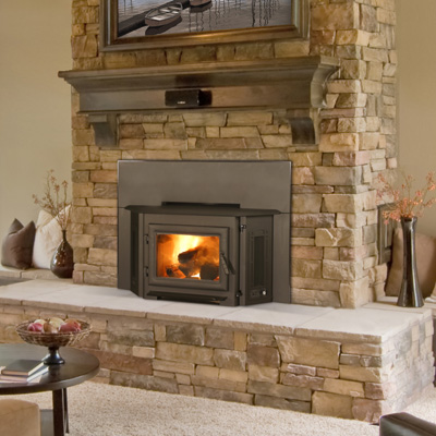 Wood Burning Inserts Fireplace Stone Amp Patio