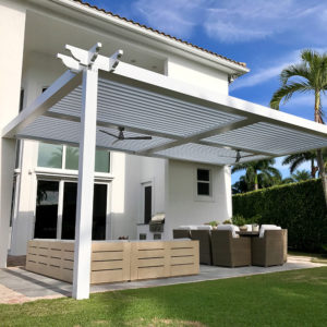 Adjustable Louvered Pergolas